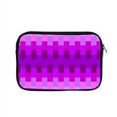 Geometric Cubes Pink Purple Blue Apple Macbook Pro 15  Zipper Case