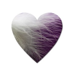 Feather Ease Airy Spring Dress Heart Magnet