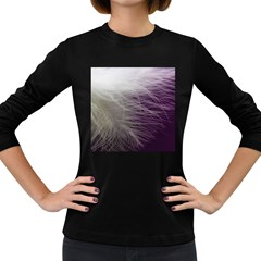 Feather Ease Airy Spring Dress Women s Long Sleeve Dark T Shirts