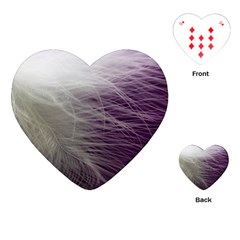 Feather Ease Airy Spring Dress Playing Cards (heart)