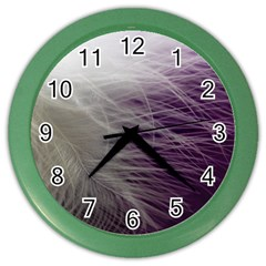 Feather Ease Airy Spring Dress Color Wall Clocks