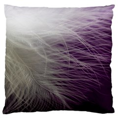 Feather Ease Airy Spring Dress Large Flano Cushion Case (two Sides) by Nexatart