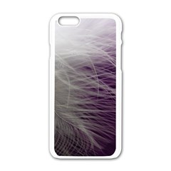Feather Ease Airy Spring Dress Apple Iphone 6/6s White Enamel Case