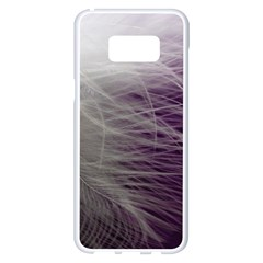 Feather Ease Airy Spring Dress Samsung Galaxy S8 Plus White Seamless Case