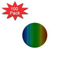 Spectrum Colours Colors Rainbow 1  Mini Buttons (100 Pack)