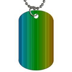 Spectrum Colours Colors Rainbow Dog Tag (two Sides)