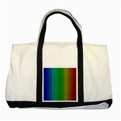 Spectrum Colours Colors Rainbow Two Tone Tote Bag