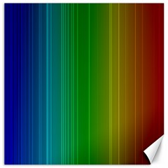 Spectrum Colours Colors Rainbow Canvas 20  X 20