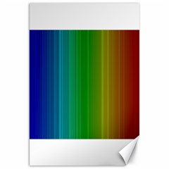Spectrum Colours Colors Rainbow Canvas 20  X 30