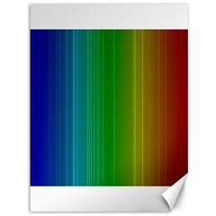 Spectrum Colours Colors Rainbow Canvas 36  X 48