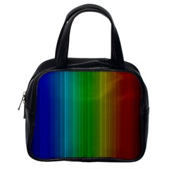 Spectrum Colours Colors Rainbow Classic Handbags (one Side)