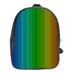Spectrum Colours Colors Rainbow School Bag (large)