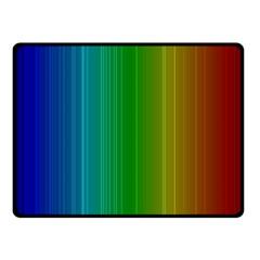 Spectrum Colours Colors Rainbow Fleece Blanket (small)