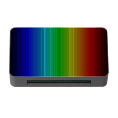 Spectrum Colours Colors Rainbow Memory Card Reader With Cf
