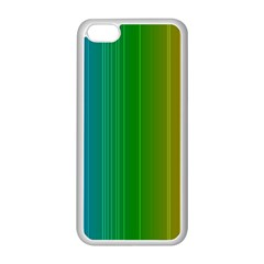Spectrum Colours Colors Rainbow Apple Iphone 5c Seamless Case (white)