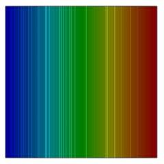 Spectrum Colours Colors Rainbow Large Satin Scarf (square)