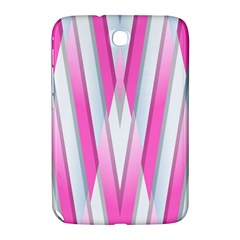 Geometric 3d Design Pattern Pink Samsung Galaxy Note 8 0 N5100 Hardshell Case