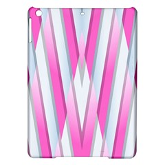 Geometric 3d Design Pattern Pink Ipad Air Hardshell Cases