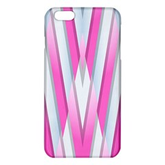 Geometric 3d Design Pattern Pink Iphone 6 Plus/6s Plus Tpu Case