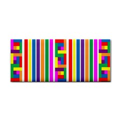 Rainbow Geometric Design Spectrum Cosmetic Storage Cases