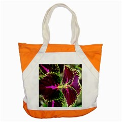 Plant Purple Green Leaves Garden Accent Tote Bag