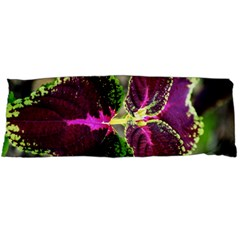 Plant Purple Green Leaves Garden Body Pillow Case Dakimakura (two Sides)