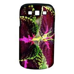 Plant Purple Green Leaves Garden Samsung Galaxy S Iii Classic Hardshell Case (pc+silicone)