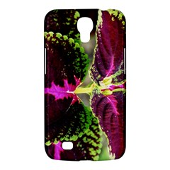 Plant Purple Green Leaves Garden Samsung Galaxy Mega 6 3  I9200 Hardshell Case by Nexatart