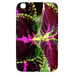 Plant Purple Green Leaves Garden Samsung Galaxy Tab 3 (8 ) T3100 Hardshell Case