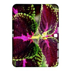 Plant Purple Green Leaves Garden Samsung Galaxy Tab 4 (10 1 ) Hardshell Case