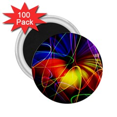 Fractal Pattern Abstract Chaos 2 25  Magnets (100 Pack)