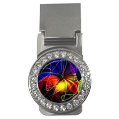 Fractal Pattern Abstract Chaos Money Clips (cz)