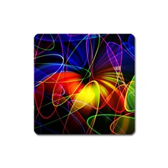 Fractal Pattern Abstract Chaos Square Magnet