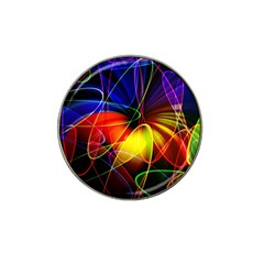 Fractal Pattern Abstract Chaos Hat Clip Ball Marker (10 Pack) by Nexatart