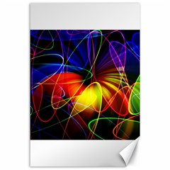Fractal Pattern Abstract Chaos Canvas 24  X 36