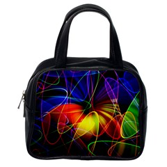 Fractal Pattern Abstract Chaos Classic Handbags (one Side)