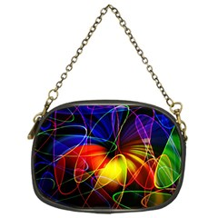 Fractal Pattern Abstract Chaos Chain Purses (one Side)