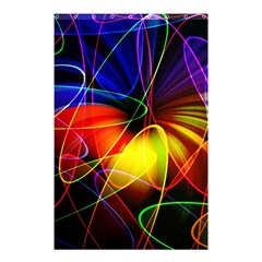 Fractal Pattern Abstract Chaos Shower Curtain 48  X 72  (small)