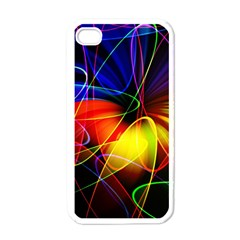 Fractal Pattern Abstract Chaos Apple Iphone 4 Case (white)