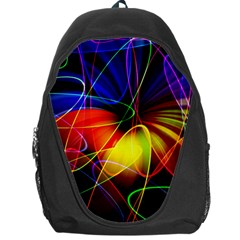 Fractal Pattern Abstract Chaos Backpack Bag