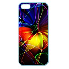 Fractal Pattern Abstract Chaos Apple Seamless Iphone 5 Case (color)
