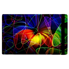Fractal Pattern Abstract Chaos Apple Ipad 2 Flip Case