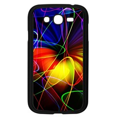 Fractal Pattern Abstract Chaos Samsung Galaxy Grand Duos I9082 Case (black)