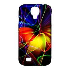Fractal Pattern Abstract Chaos Samsung Galaxy S4 Classic Hardshell Case (pc+silicone) by Nexatart