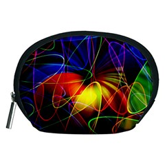 Fractal Pattern Abstract Chaos Accessory Pouches (medium)