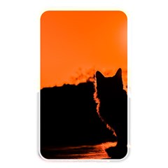 Sunset Cat Shadows Silhouettes Memory Card Reader