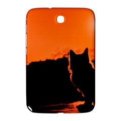 Sunset Cat Shadows Silhouettes Samsung Galaxy Note 8 0 N5100 Hardshell Case