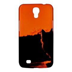 Sunset Cat Shadows Silhouettes Samsung Galaxy Mega 6 3  I9200 Hardshell Case