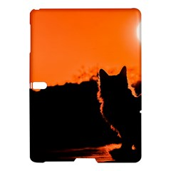 Sunset Cat Shadows Silhouettes Samsung Galaxy Tab S (10 5 ) Hardshell Case