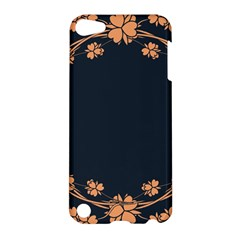 Floral Vintage Royal Frame Pattern Apple Ipod Touch 5 Hardshell Case